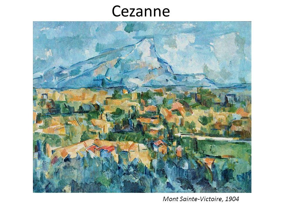 Cezanne Mont Sainte-Victoire, 1904