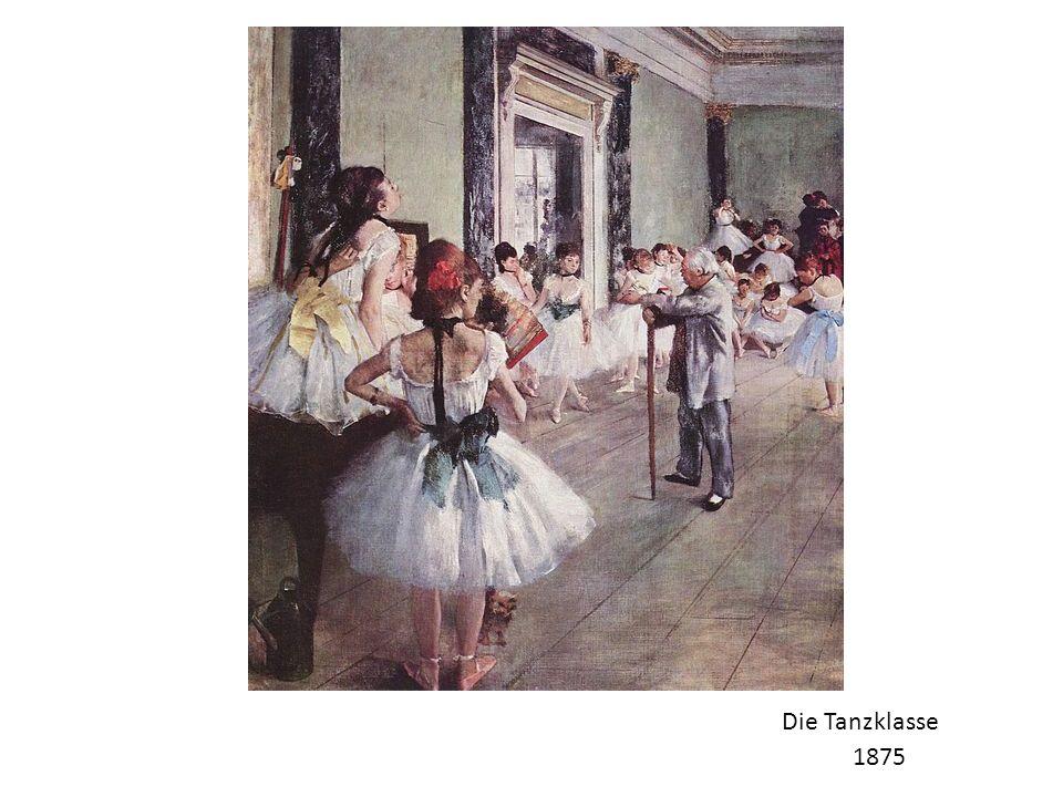 Die Tanzklasse 1875