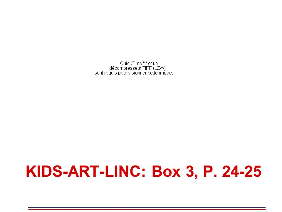 KIDS-ART-LINC: Box 3, P. 24-25