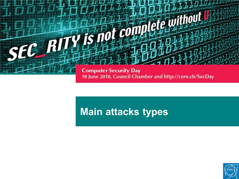 Main attacks types