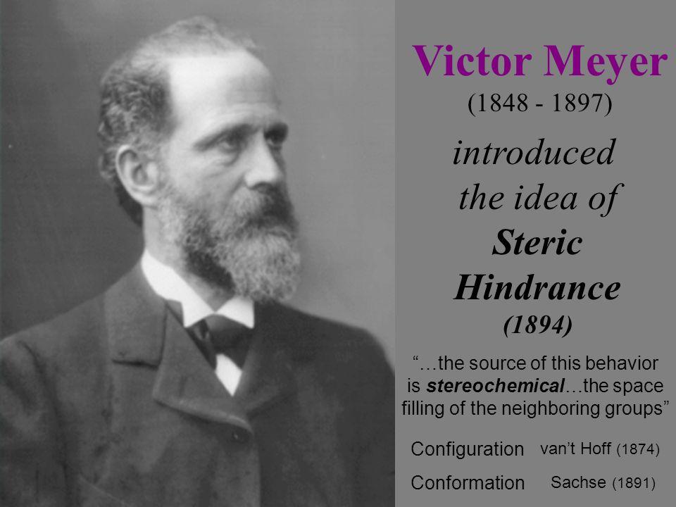 Victor Meyer 9/8/48 - 8/8/97 Geliebte Frau! Geliebte Kinder! Lebt wohl! Meine Nerven sind zerstört; ich kann nicht mehr. Victor Meyer (1848 - 1897) in