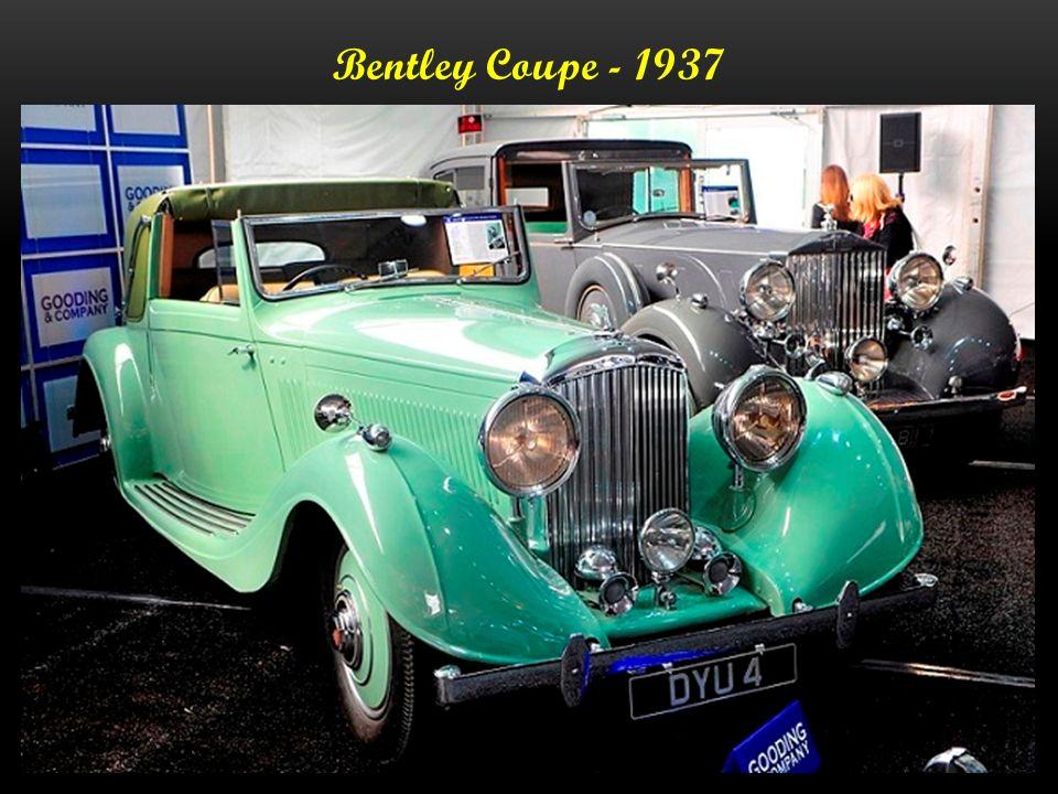 Bentley - Sedanca Coupe B 44 HK - 1937