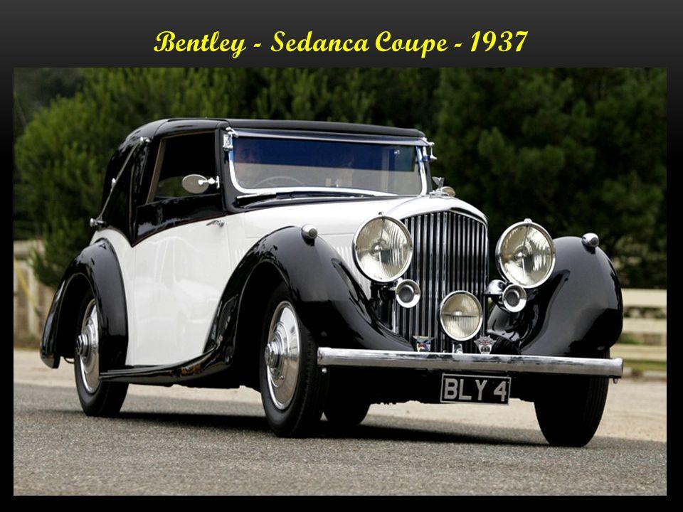 Bentley Coupe - 1937