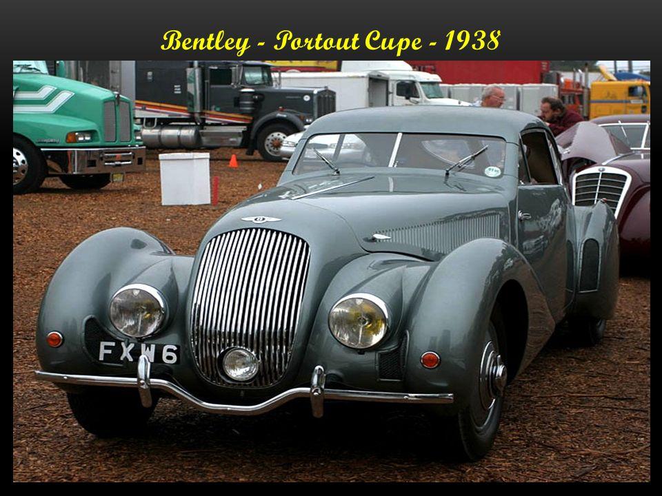 Bentley -Cabriolet B 125 LE - 1938 - 170.000.- Euro