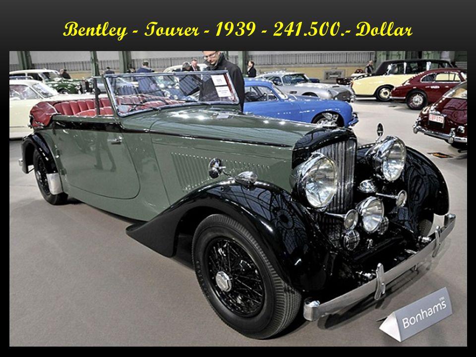 Bentley - Egerton Tourer - 1939