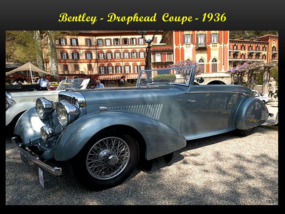 Bentley - Derby Spezial - 1934