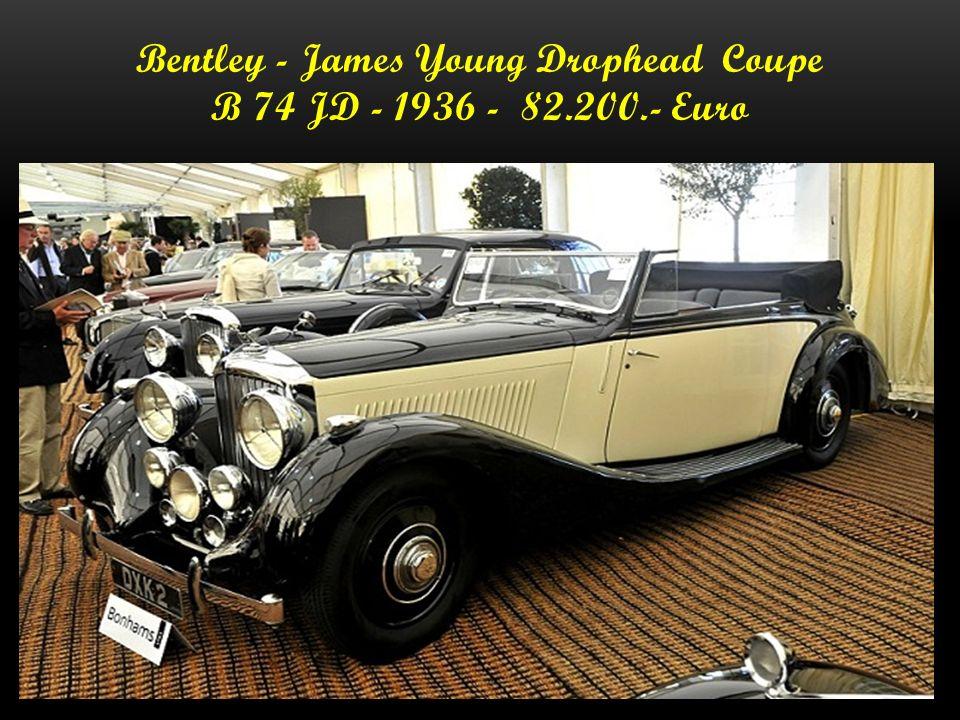 Bentley - Drophead Coupe - 1936