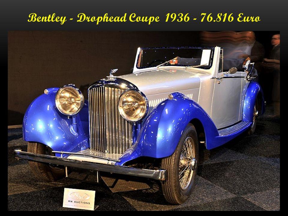 Bentley Embrico - B 27 LE - 1936