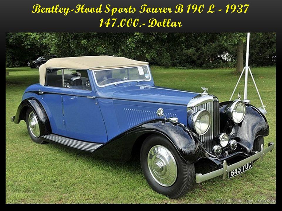 Bentley - Drophead Coupe 1936 - 76.816 Euro