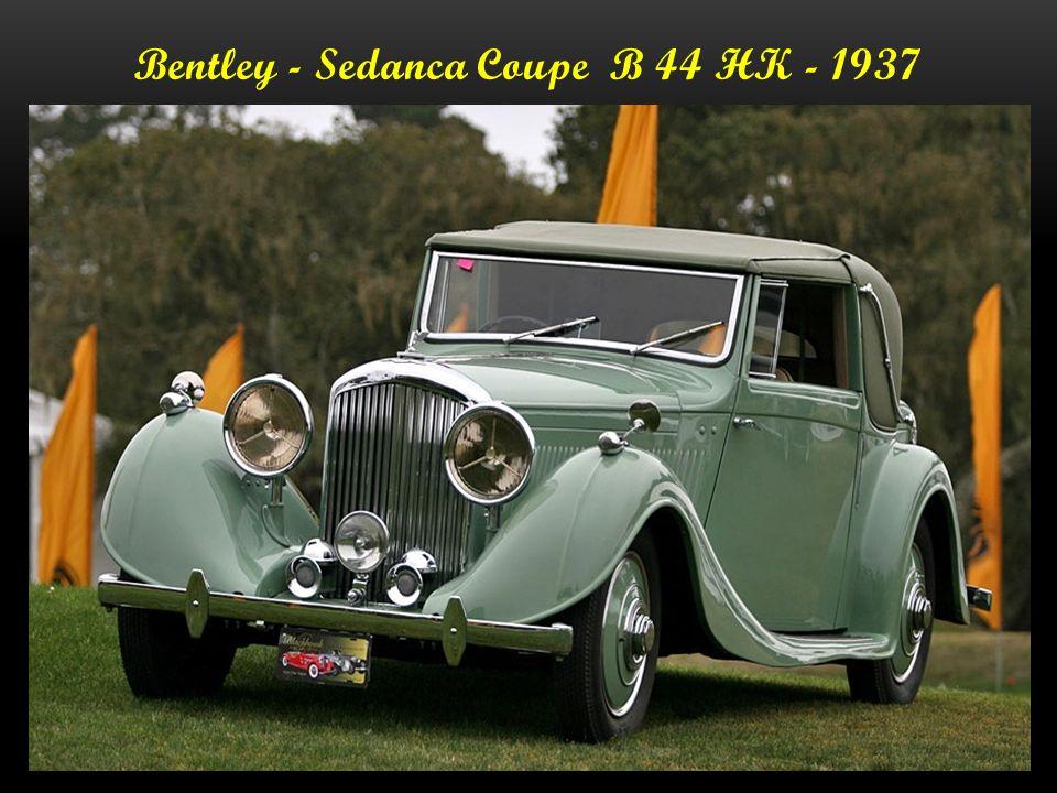 Bentley-Hood Sports Tourer B 190 L - 1937 147.000.- Dollar
