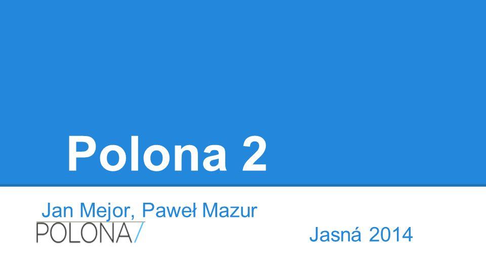 Polona 2 Jan Mejor, Paweł Mazur Jasná 2014