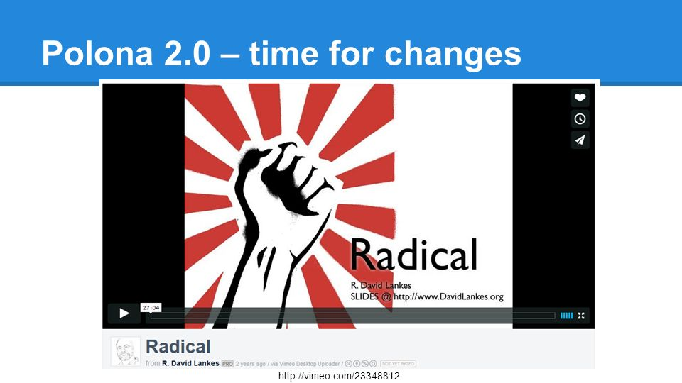 Polona 2.0 – time for changes http://vimeo.com/23348812