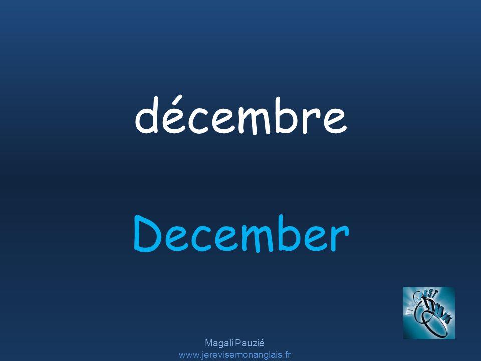 Magali Pauzié www.jerevisemonanglais.fr December décembre