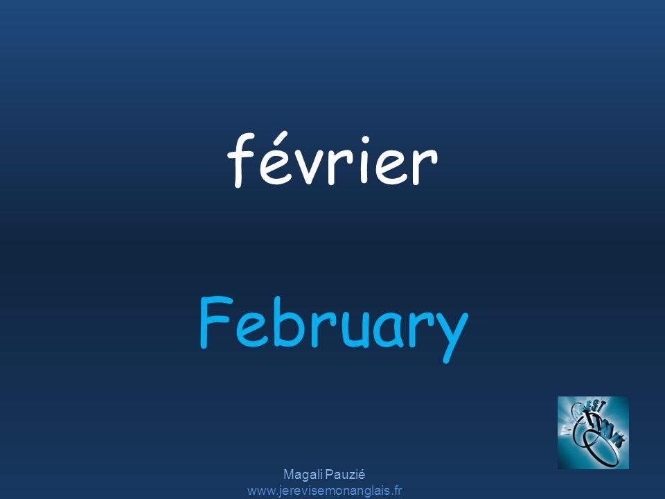 Magali Pauzié www.jerevisemonanglais.fr February février