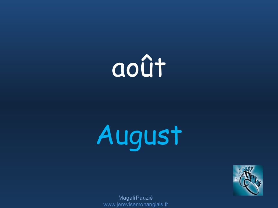 Magali Pauzié   August août