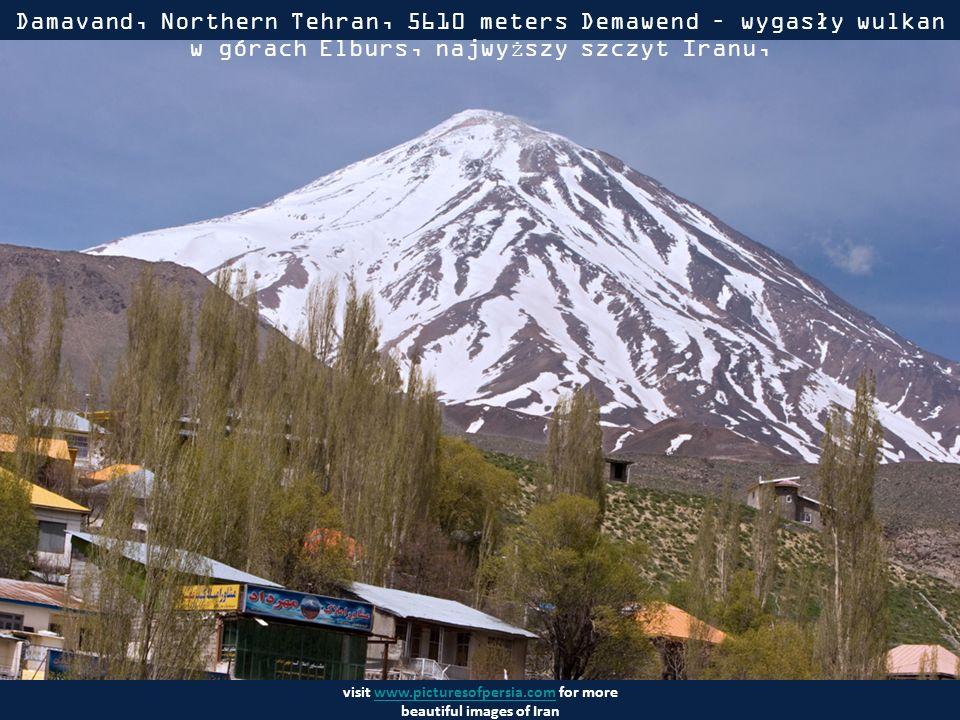 visit www.picturesofpersia.com for more beautiful images of Iranwww.picturesofpersia.com Alamout - w górach Elburs na południe od Morza Kaspijskiego ok.