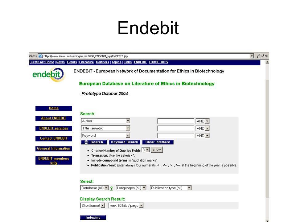 Endebit