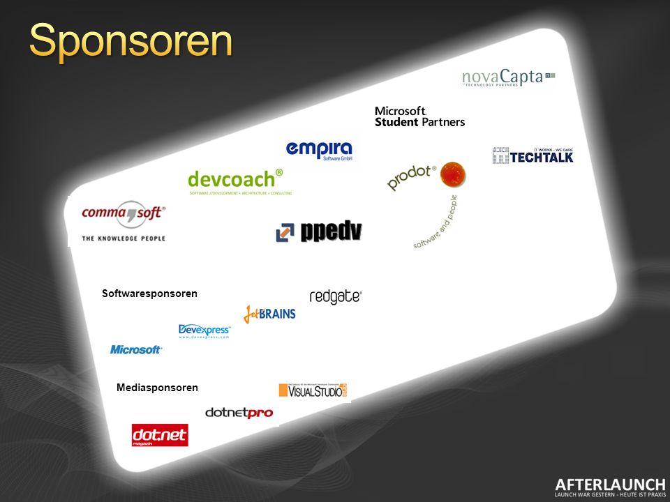Softwaresponsoren Mediasponsoren
