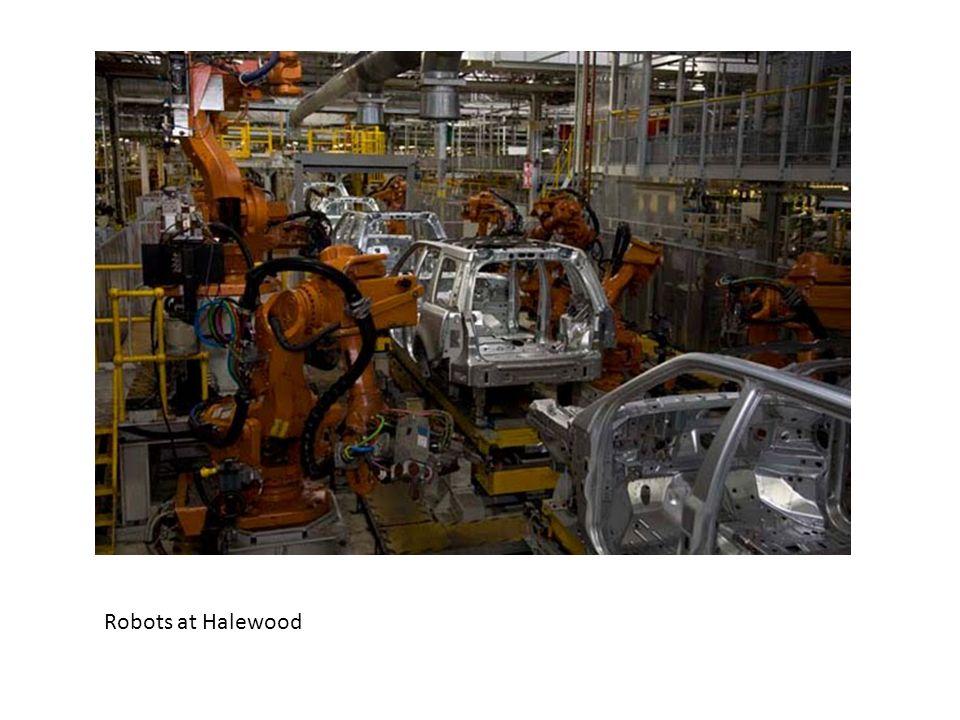 Robots at Halewood
