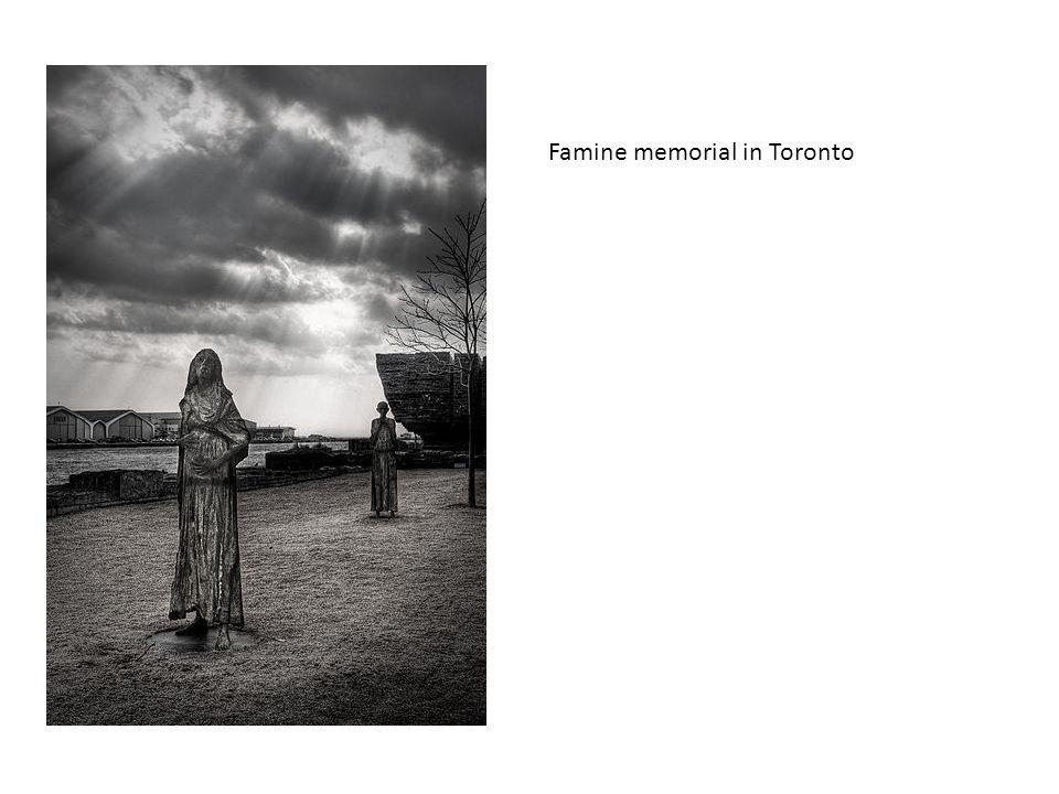 Famine memorial in Toronto