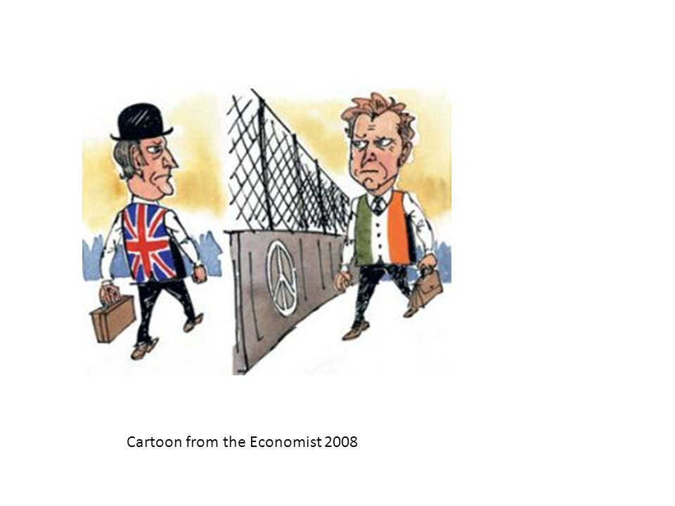 Cartoon from the Economist 2008