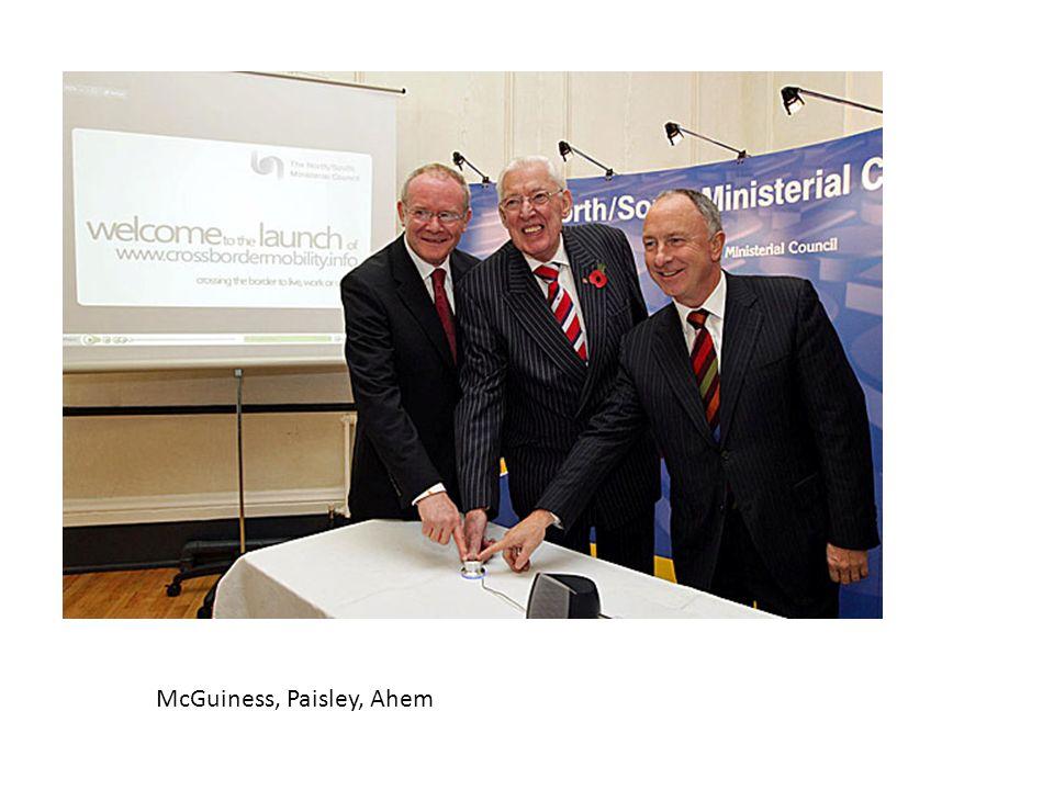 McGuiness, Paisley, Ahem