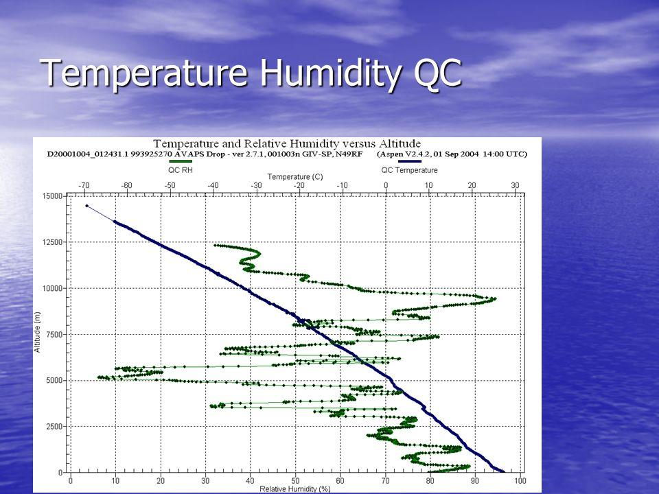 Temperature Humidity QC