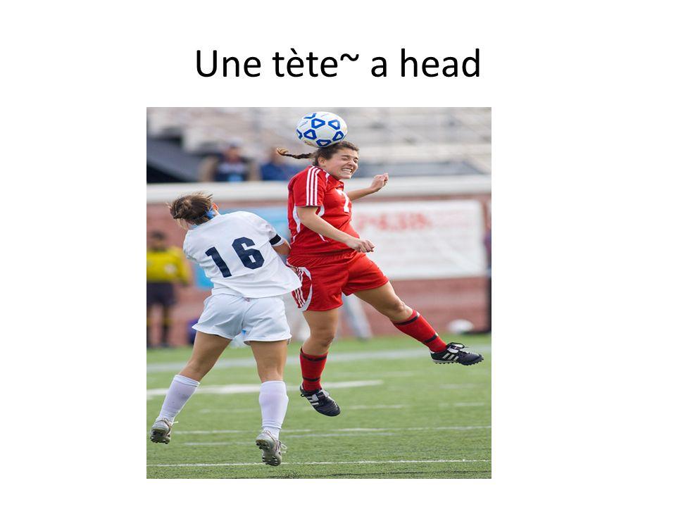 Une tète~ a head