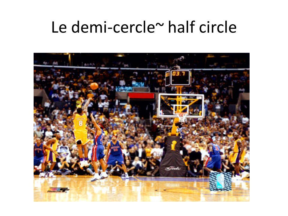Le demi-cercle~ half circle