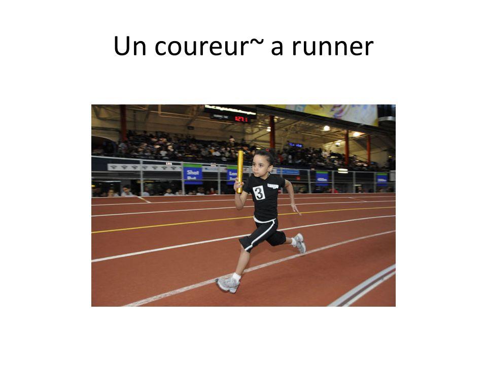 Un coureur~ a runner