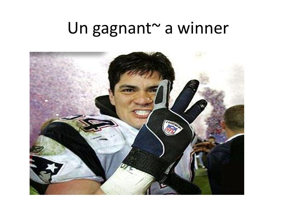 Un gagnant~ a winner