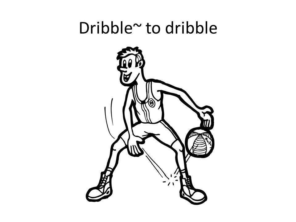 Dribble~ to dribble