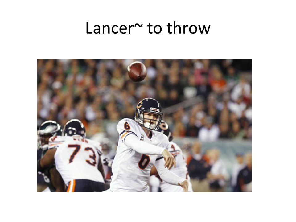 Lancer~ to throw