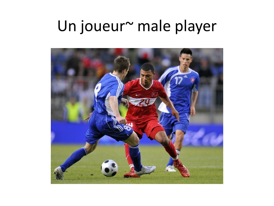Un joueur~ male player
