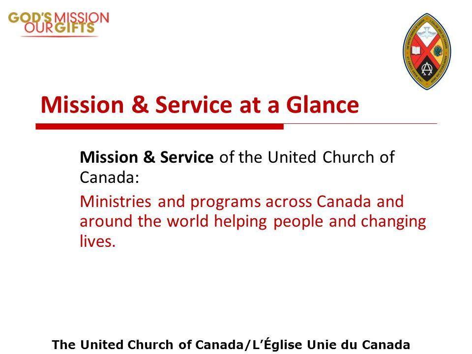The United Church of Canada/LÉglise Unie du Canada