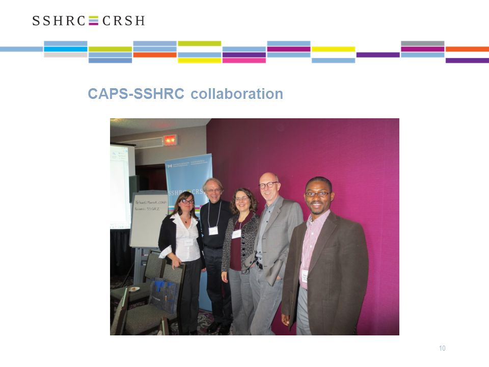CAPS-SSHRC collaboration 10