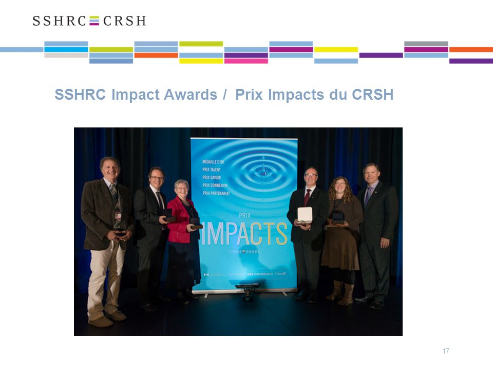 SSHRC Impact Awards / Prix Impacts du CRSH 17