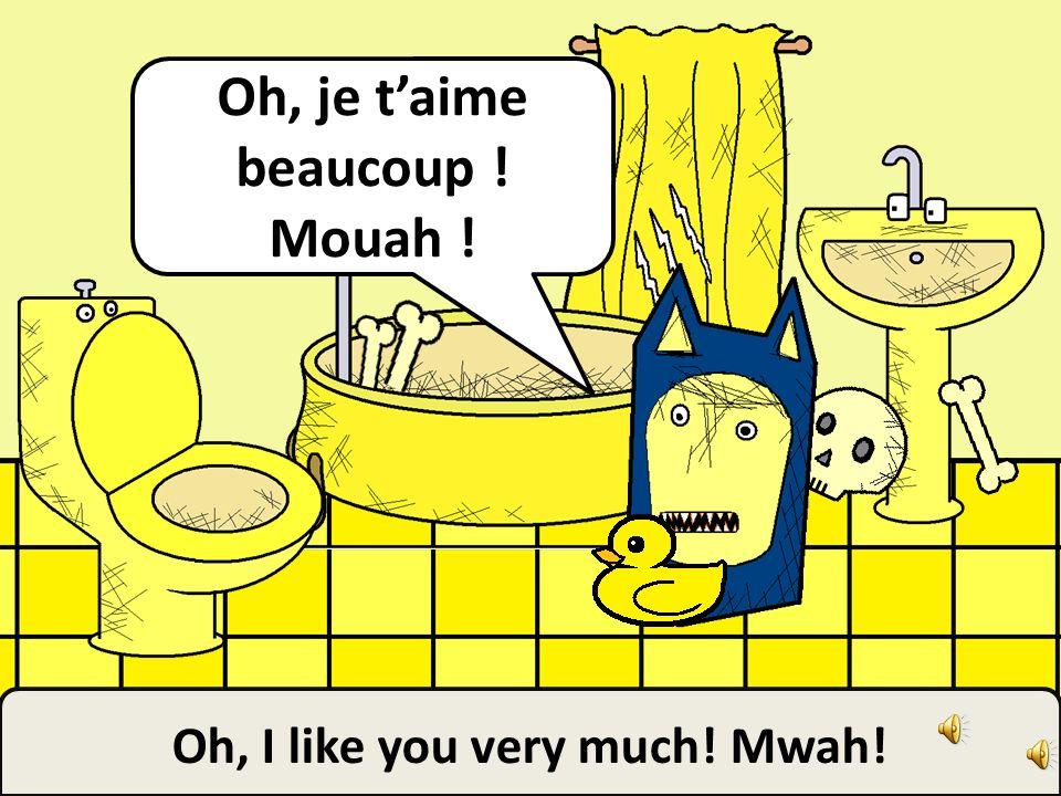 My little rubber ducky! Mon petit canard en caoutchouc !!!