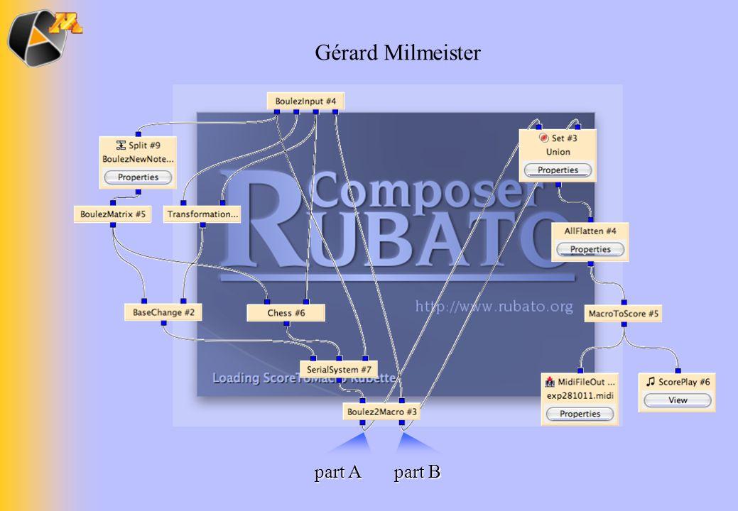 part A part B Gérard Milmeister