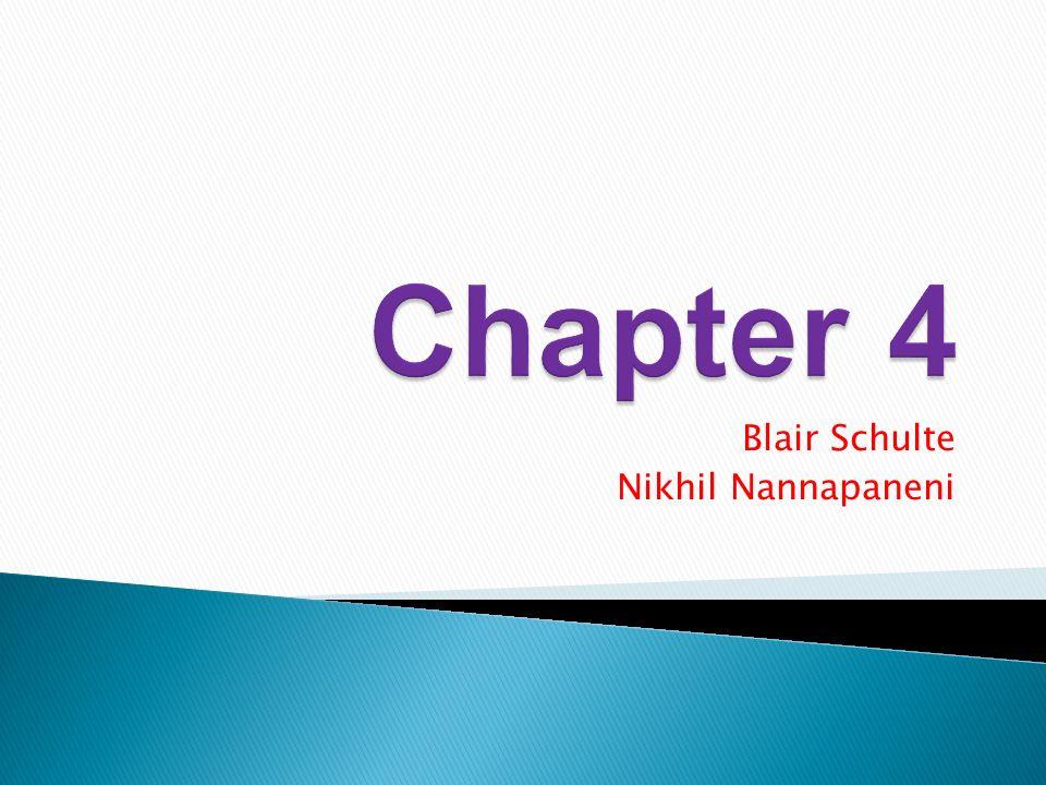 Blair Schulte Nikhil Nannapaneni
