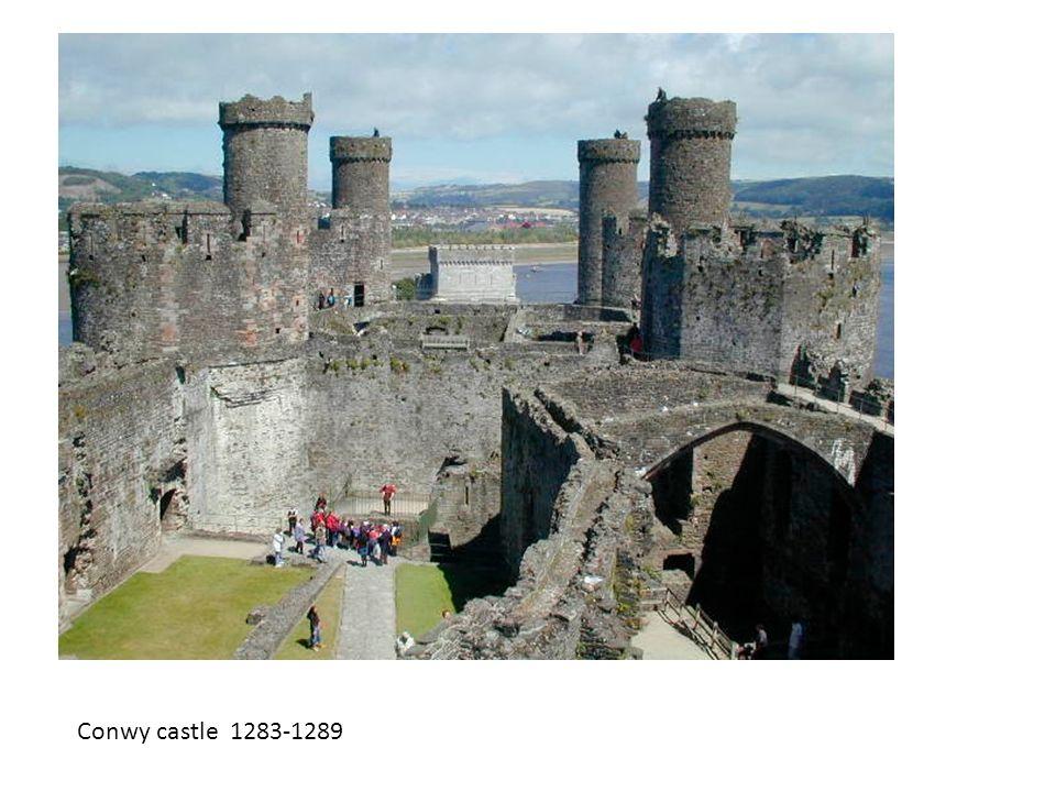Conwy castle 1283-1289