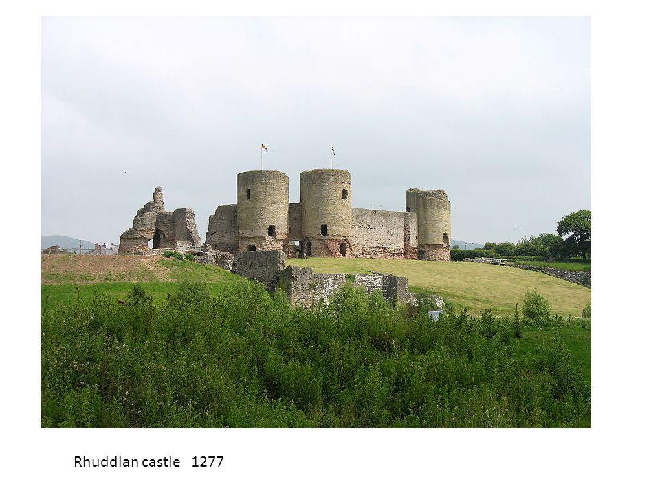 Rhuddlan castle 1277