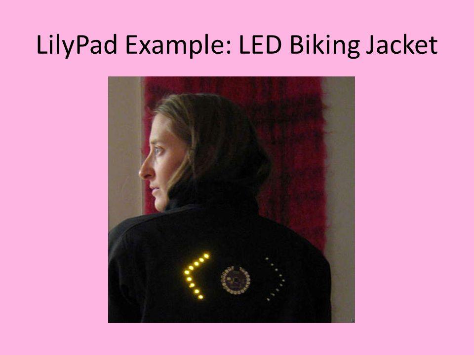 LilyPad Example: POV Bracelet