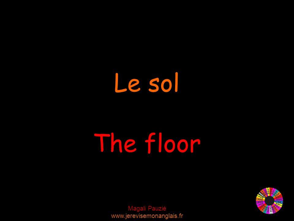Magali Pauzié www.jerevisemonanglais.fr The floor Le sol