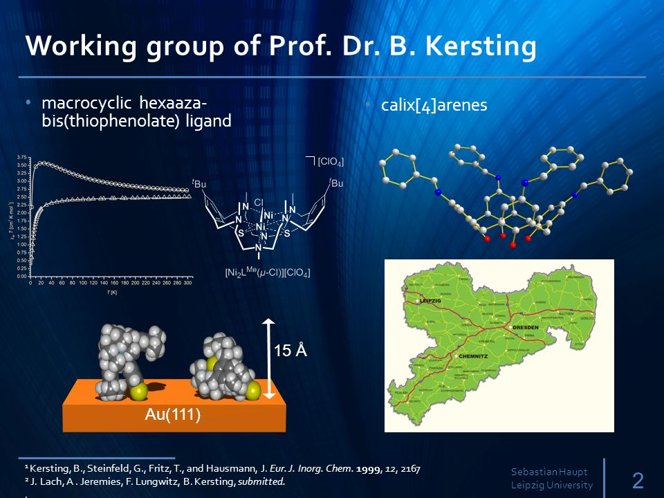 Working group of Prof.Dr. B.