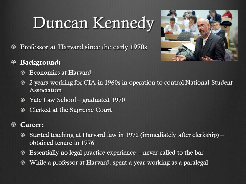 Duncan Kennedy.