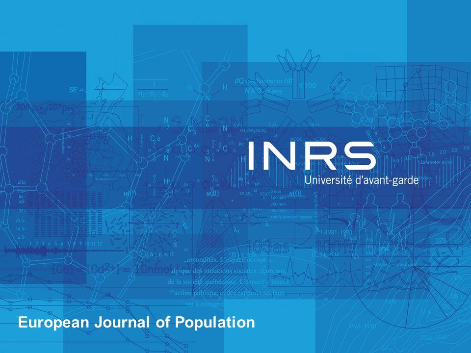European Journal of Population