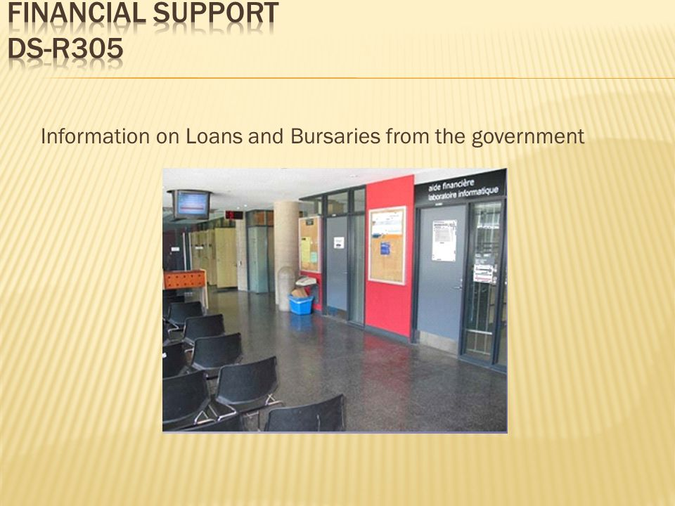 Information on Loans and Bursaries from the government