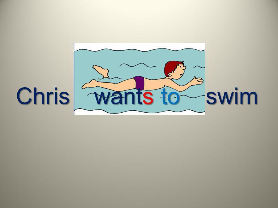 Chrisswim wants to