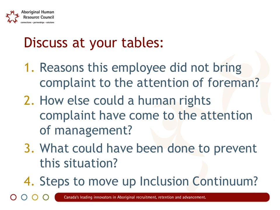 Stage 2: Intimidation Main featureReacting to external pressure but see no link between Diversity and Inclusion AttitudeIm not happy about having to deal with these complainers.